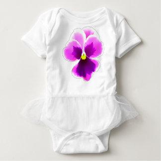 Purple Pansy Flower 201711 Baby Bodysuit