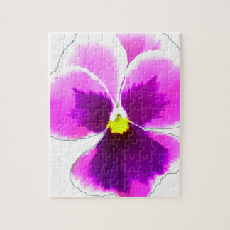 Purple Pansy Flower 201711 Jigsaw Puzzle