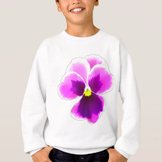 Purple Pansy Flower 201711 Sweatshirt