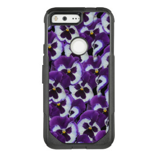 "Purple Pansy  OtterBox Google 5"" Pixel  Case."