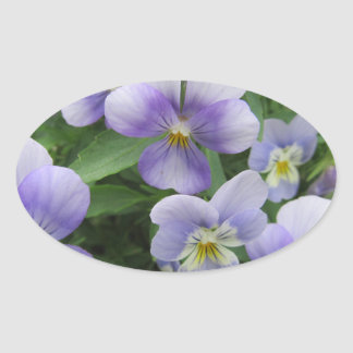 Purple Pansy Stickers Seal And Stick Everywhere