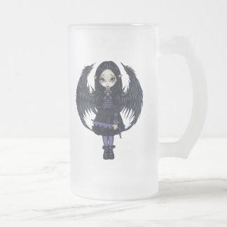 """Purple Paper Hearts"" Mug"