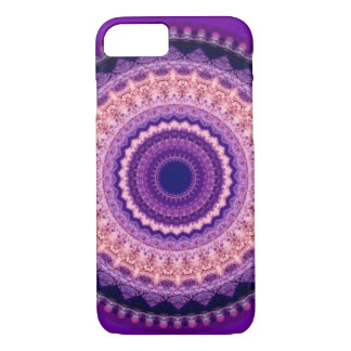 Purple Paradise Mandala iPhone 7 case