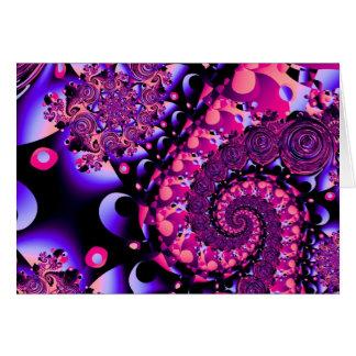 Purple Parfait Card