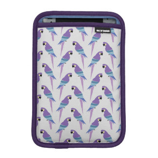 Purple Parrots iPad Mini Sleeve