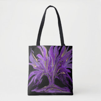 Purple Passion beautiful tote bag,