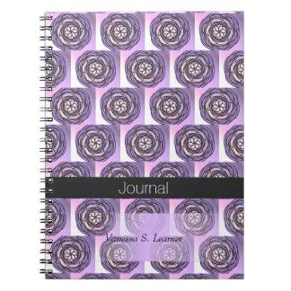 Purple Passion Flower Journal