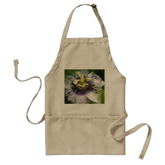 PURPLE PASSION FRUIT FLOWERS STANDARD APRON