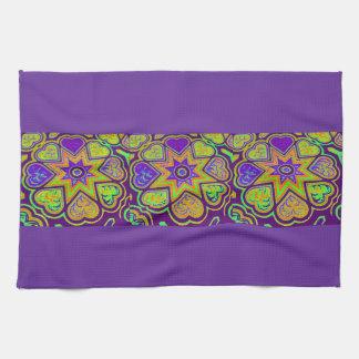 'Purple Passion' Kitchen Towel