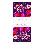 Purple Passion Name Place Setting Rack Card Design
