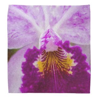 Purple Passion Orchid Bandana
