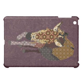 Purple Pattern Donkey iPad Case