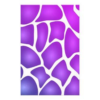 Purple Pattern Flyer Design