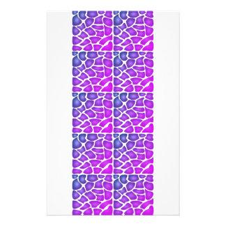 Purple Pattern Flyers