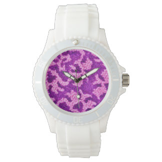 Purple Pattern Watch