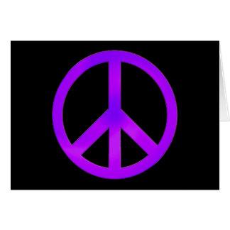 Purple Peace Card