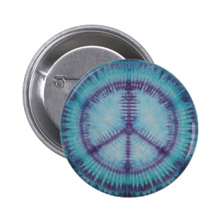 Purple Peace Signs Button Flair