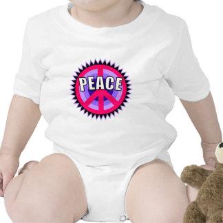 Purple Peace Symbol Bodysuit