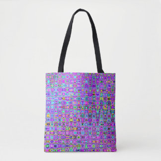 Purple Peacock Tote Bag