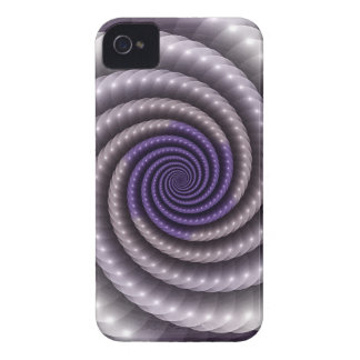 Purple Pearl Fractal Case-Mate iPhone 4 Cases