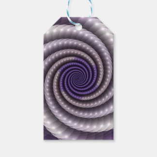 Purple Pearl Fractal Gift Tags