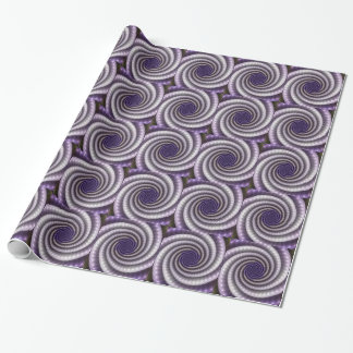 Purple Pearl Fractal Wrapping Paper