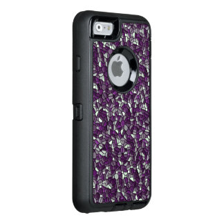 Purple Pebbles OtterBox Defender iPhone Case