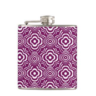 Purple Peddler Hip Flask