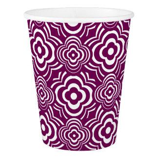 Purple Peddler Paper Cup