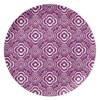 Purple Peddler Plate
