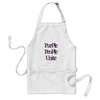 Purple People Unite Standard Apron