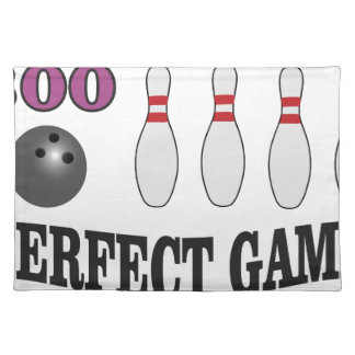 purple perfect game 300 placemat