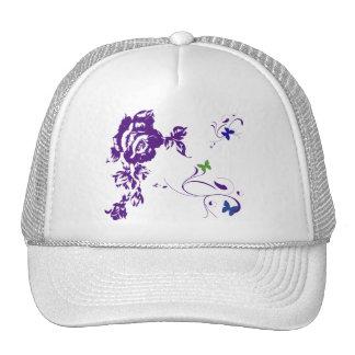 Purple Petals Cap
