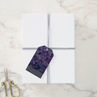 Purple Petals Gift Tags
