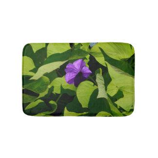 Purple Petunia Bath Mat Bath Mats