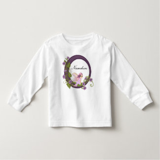 Purple Petunia Faery & Flowers Tshirt