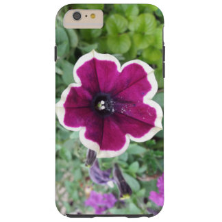 Purple Petunia Tough iPhone 6 Plus Case