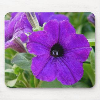 Purple Petunias Flower Mousepad