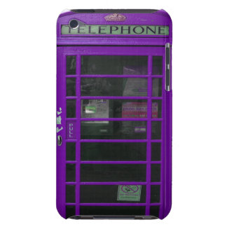 purple phone booth iPod touch Case-Mate case