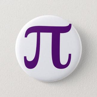 Purple Pi 6 Cm Round Badge