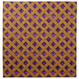 Purple Pie Napkin