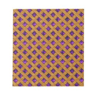Purple Pie Notepad