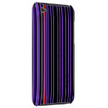 Purple Pin Stripes iPod Case iPod Touch Case
