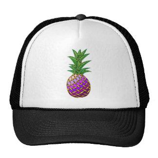 Purple Pineapple Cap