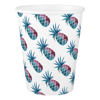 PURPLE PINEAPPLE PAPER CUP