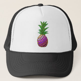 Purple Pineapple Trucker Hat