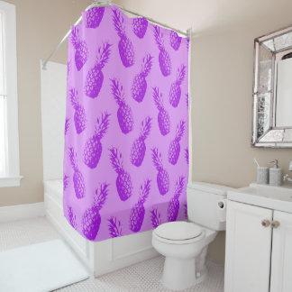 Purple Pineapples Shower Curtain