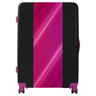 Purple, Pink, Black Large Sized Luggage Suitcase