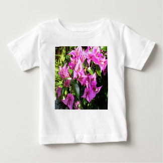 Purple Pink Bougainvillia In Blossom Baby T-Shirt