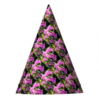 Purple Pink Bougainvillia In Blossom Party Hat